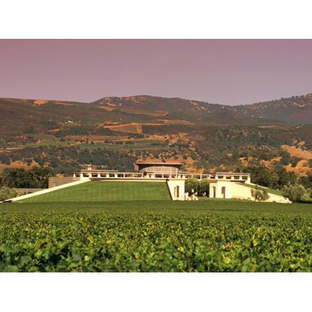 Opus One Winery, Napa Valley, California Print Wall Art By John Alves (Opus One Winery)