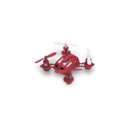 Microgear 2.4 GHz. Radio Controlled RC QX-288 Mini Gyro Quadcopter - Red
