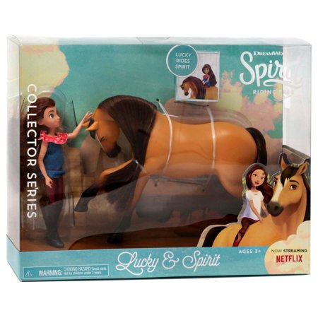 Spirit Riding Free Collector Series Lucky & Spirit Figure Set [Version (Toy Story 2 Al The Toy Collector)