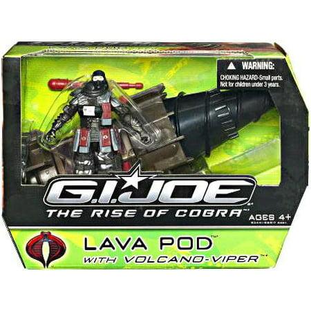 GI Joe The Rise of Cobra Lava Pod