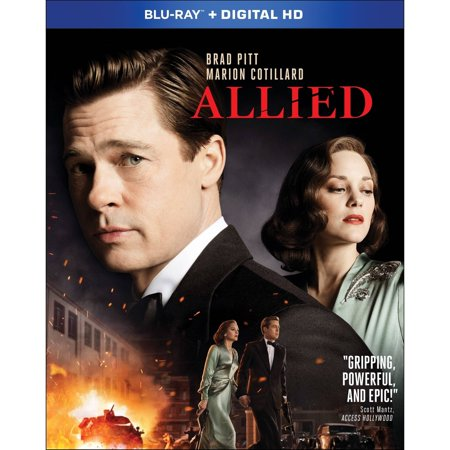 Allied  Blu Ray   Walmart Exclusive   With Instawatch