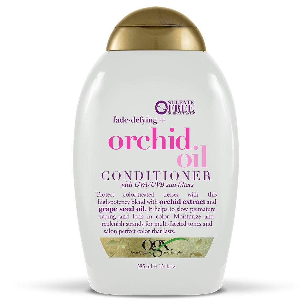 OGX Fade-Defying + Orchid Oil Conditioner, 13.0 FL OZ