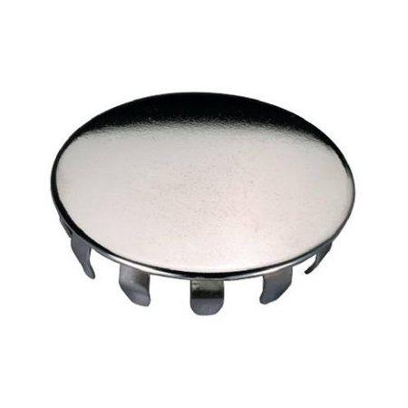 Snap-in Sink Hole Cover, Chrome Metal, 1.5