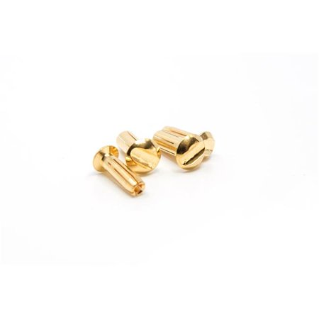 1UP Racing 1UP190401 4 mm Low Pro Bullet Plugs Pair ()