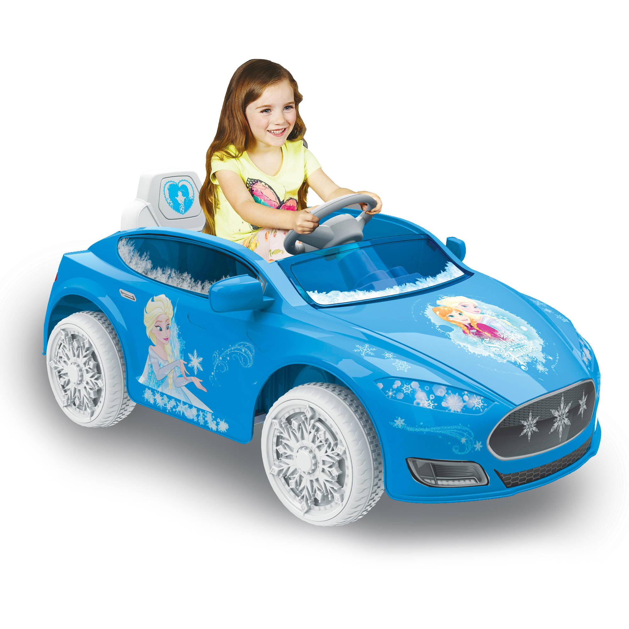 Frozen Princess Electric Car Not Lossing Wiring Diagram For Battery Operated Toys Disney Speed Coupe 6 Volt Powered Ride On Walmart Com Rh