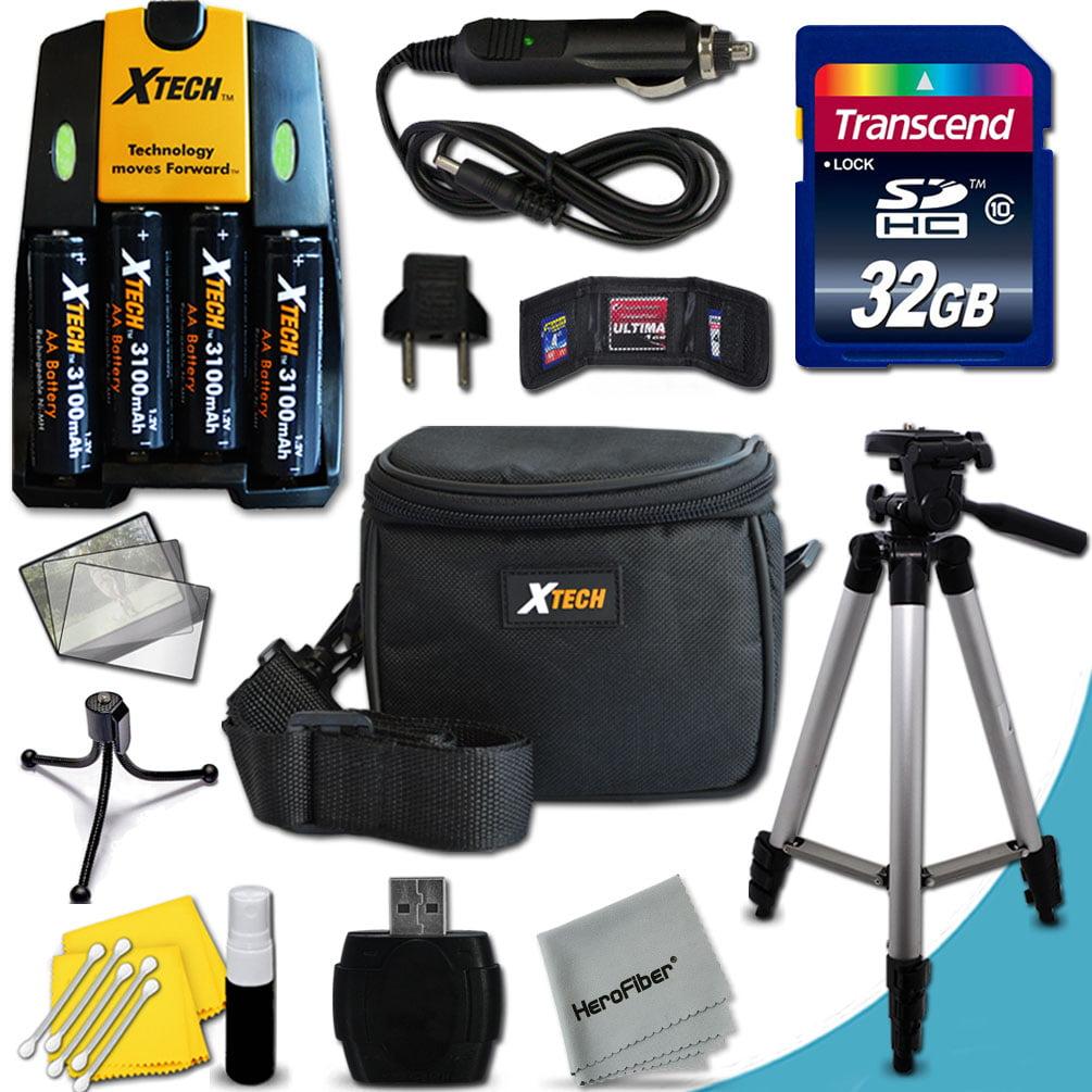 Ultimate Accessory Kit for Fuji FinePix AX660, AX650, AXS...