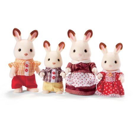 Calico Critters Hopscotch Rabbit Family