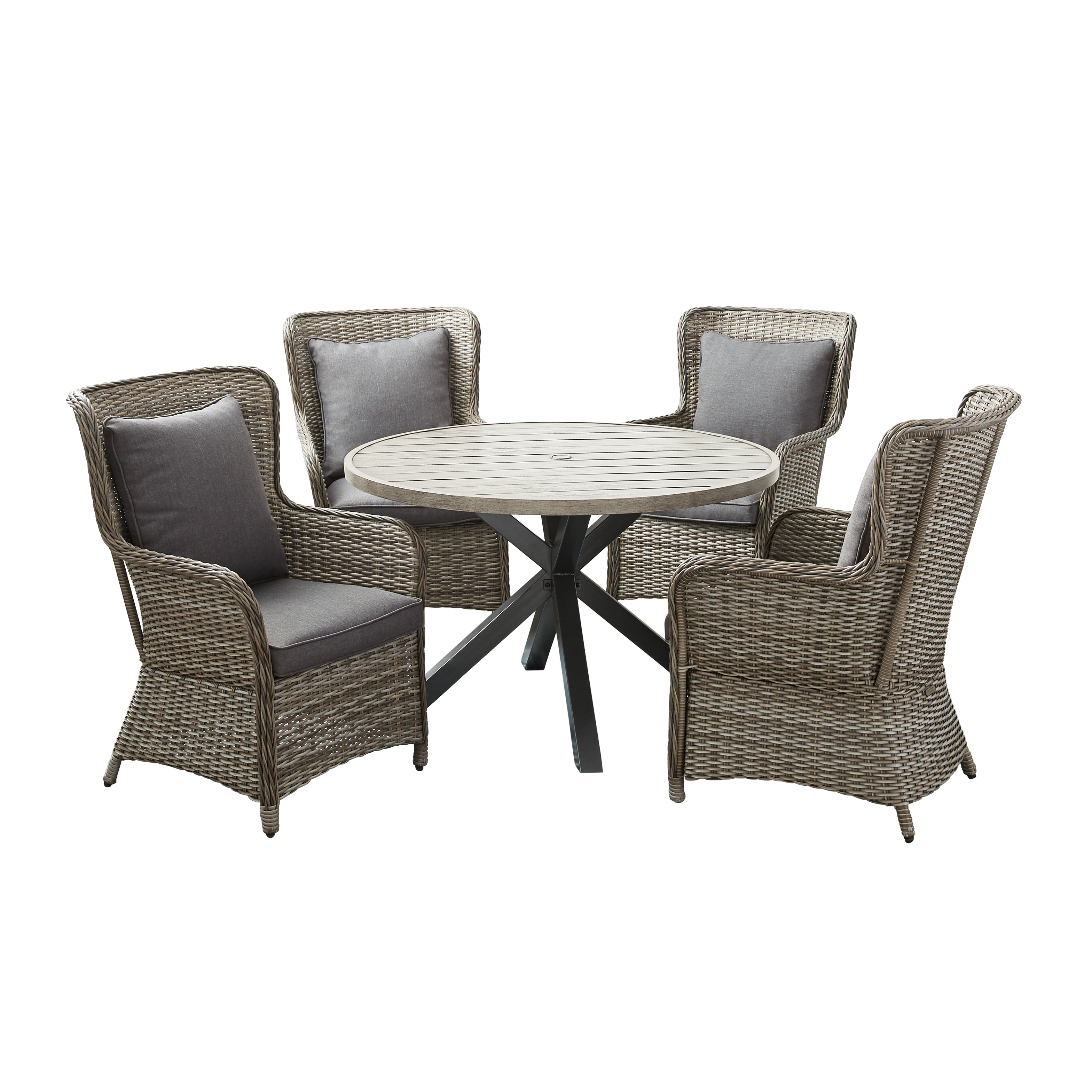 Better Homes & Gardens Victoria 5-Piece Patio Wicker Dining Set