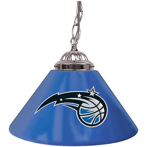 "Trademark Global Orlando Magic NBA 14"" Single Shade Bar Lamp"