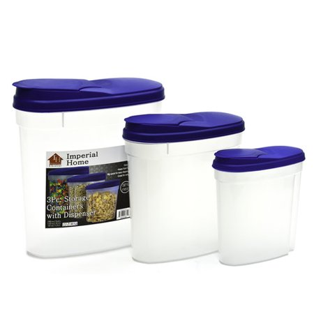 Plastic Replacement Canister (Imperial Home Single Canister Plastic Cereal Dispenser)