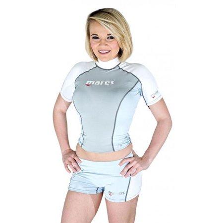 Mares Rash Guard Top - Womens Short Sleeve for Scuba ...