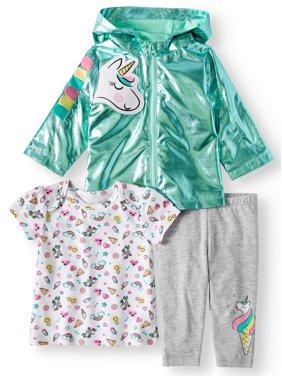 40cc6f5ce38a White Baby Girls Outfit Sets - Walmart.com