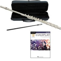 Coldplay Flute Pack - Includes Flute w/Case & Accessories & Coldplay Play Along Book
