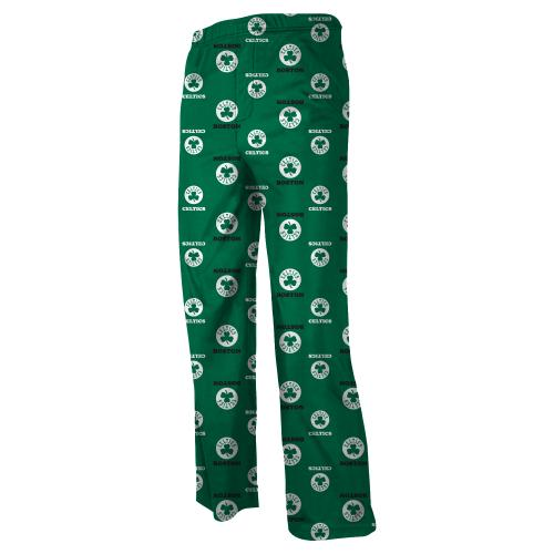 Boston Celtics Youth NBA Logo Pajama Pants by Outerstuff