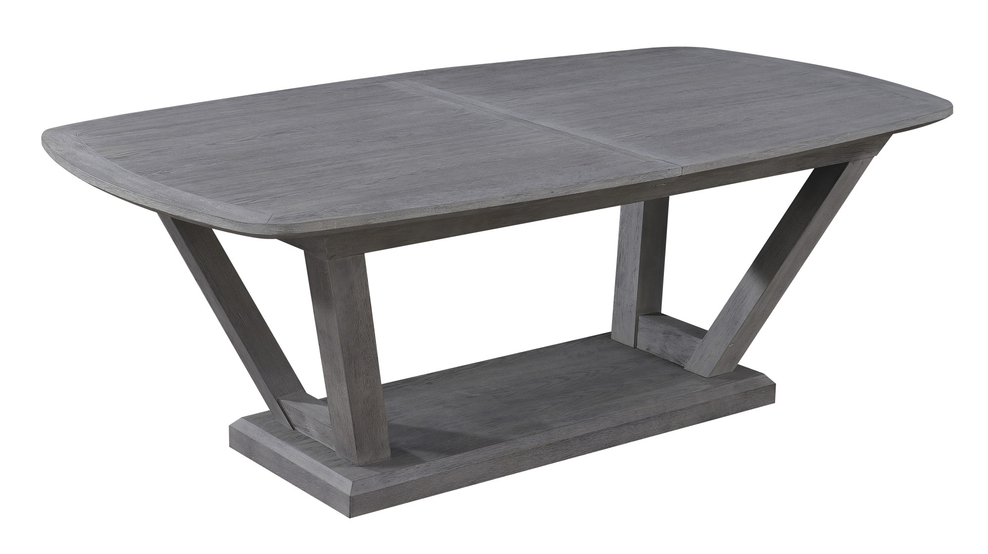 84 dining table oval emerald home carrera slate gray 84