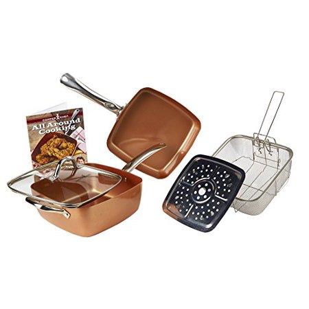 Copper Chef 5 Piece Cookware Set Walmart Com