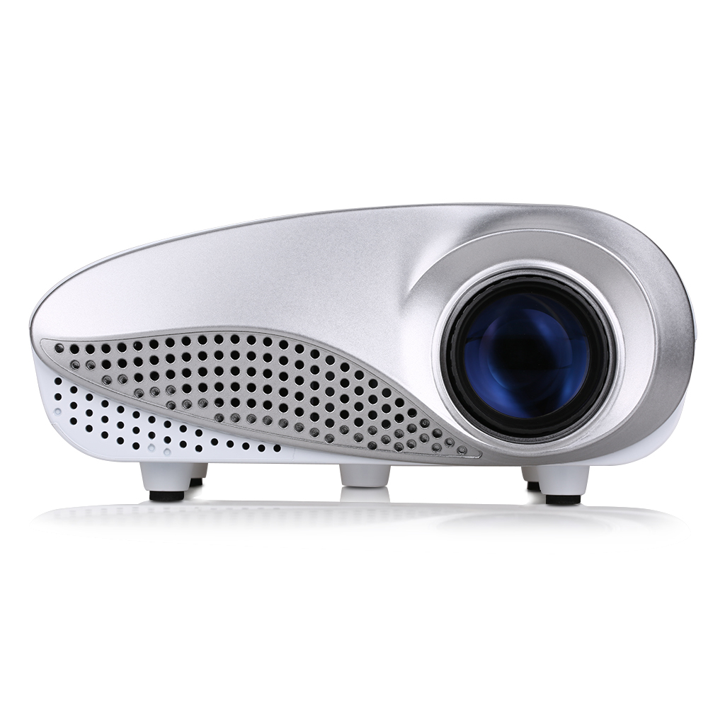 Excelvan LED/LCD Portable Mini Multimedia Projector For Home Theater Outdoor Movie Game