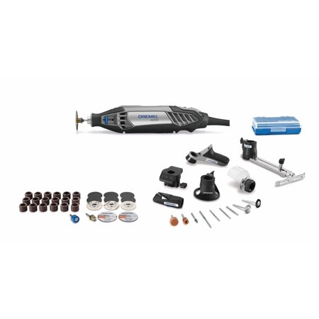 Dremel 4200-4/36 1.6 Amp Corded Variable Speed Rotary Tool Kit with 41 Accessories and 4 Attachments