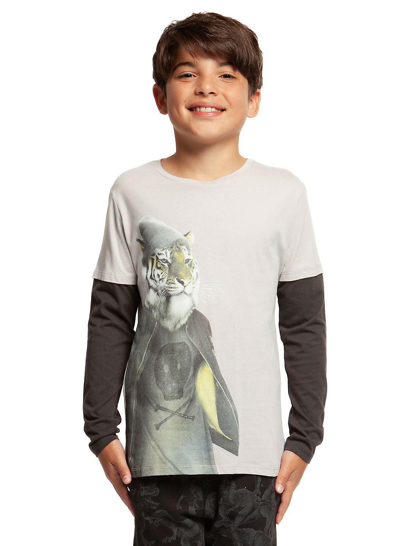 Boy's Long-Sleeve Cotton Top