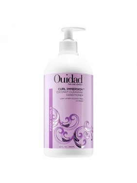 Ouidad Curl Immersion Co-Wash Coconut Cleansing Conditioner 33.8 Oz
