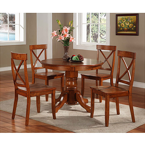 Home Styles - Pedestal Dining Table, Cottage Oak
