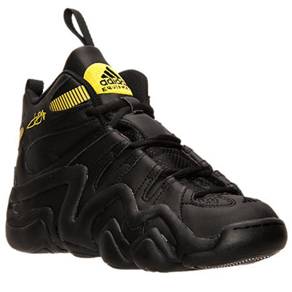 Adidas Crazy 8 J Black/Black/Yellow ( S84986 )