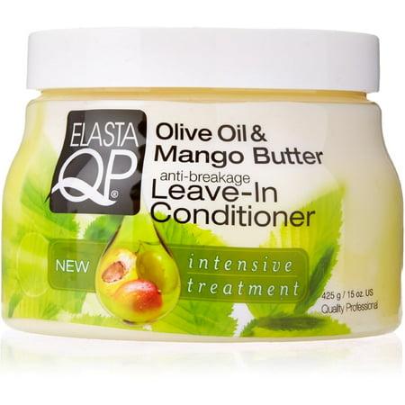 Elasta QP Anti-Breakage Leave-In Conditioner, Olive Oil & Mango Butter 15 oz