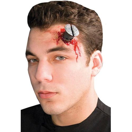 Deadly Screw Prosthetic Halloween Accessory
