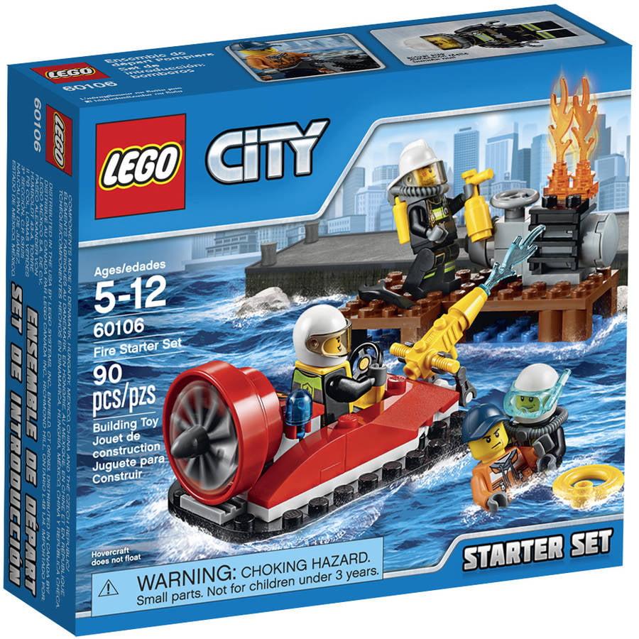 LEGO City Fire Fire Starter Set, 60106