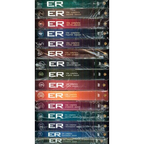 ER: The Complete Seasons 1 - 15           (Widescreen)