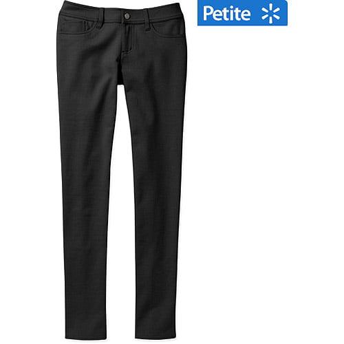 Faded Glory Women's Petite Skinny Ponte Knit Pants