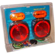 Trailer Light Kit Marker/Stop/Wiring Harness/Boat Tail