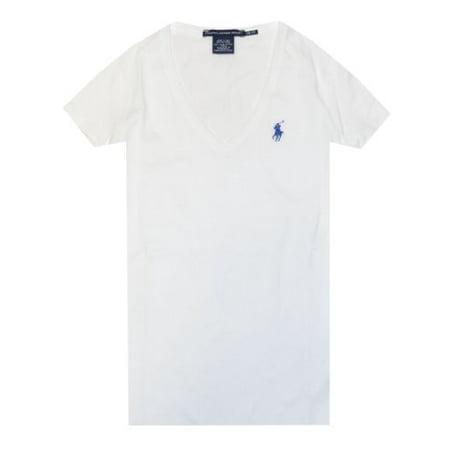1ce636c8b RALPH LAUREN - Ralph Lauren Sport Women Lightweight Pony Logo V-Neck  T-Shirt (S