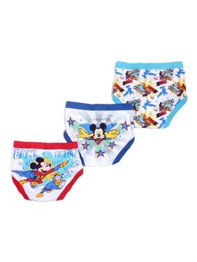 a99d187c249d4 Product Image Disney Boys 2T-4T Mickey Mouse Clubhouse Briefs - 3 Pack