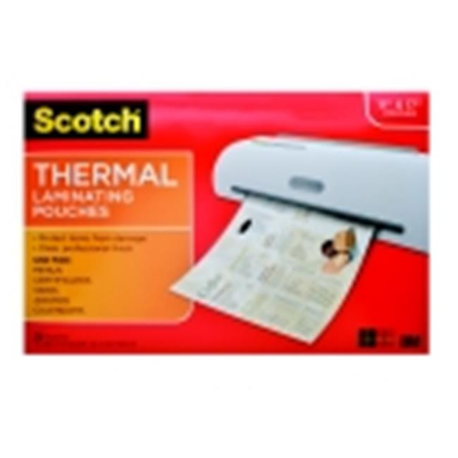 Scotch Menu Size Thermal Laminator Pouch - Pack 25