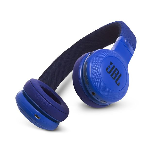 JBL E45BT Wireless On-ear Headphones - Stereo - Teal - Mini-phone - Wired/Wireless - Bluetooth - 32 Ohm - 20 Hz - 20 kHz - Over-the-head - Binaural - Circumaural