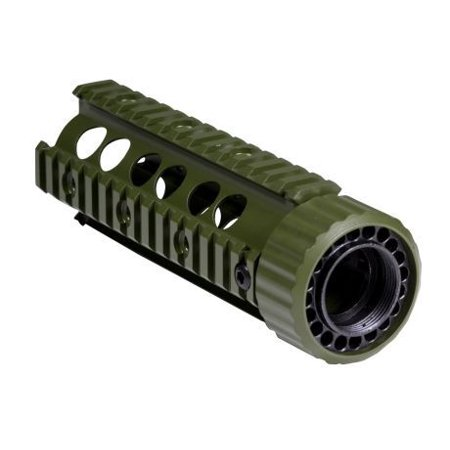 - Firefield Carbine 6.9 Inch Floating Quad Rail Olive Drab