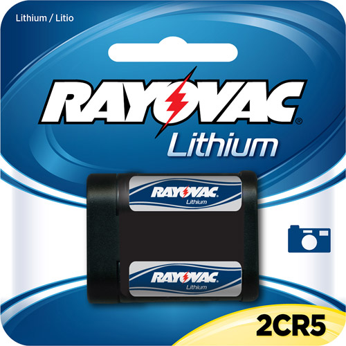 Rayovac Lithium Photo Battery 2CR5 Size