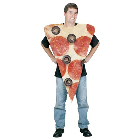 Pizza Slice Adult Costume](Sliced Fingers Halloween)