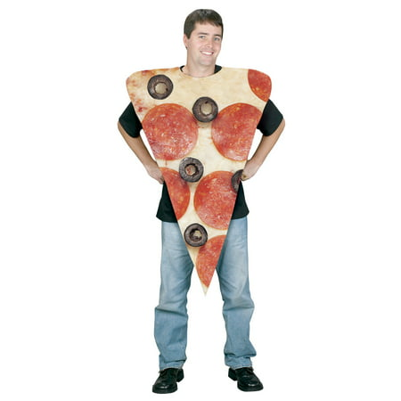 Pizza Slice Adult Costume - Pizza Costume Amazon