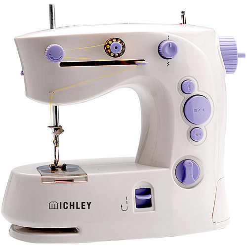Michley Lil' Sew & Sew 4-Stitch Portable Sewing Machine