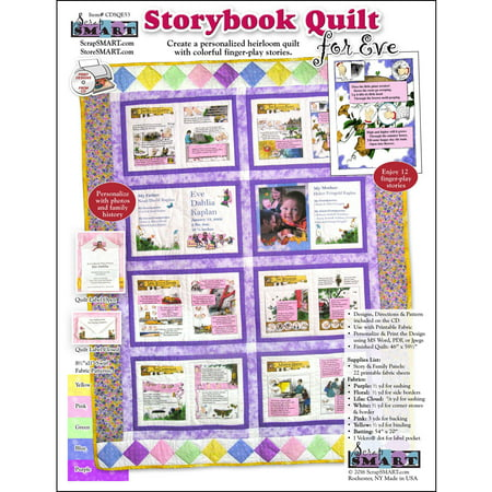 ScrapSMART Storybook Quilt for Eve CD-ROM: Designs and Patterns