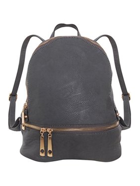25ad996c4b7a Product Image Vegan Leather Backpack Purse Small Fashion Travel School Bag  Bookbag, Black, by Humble Chic