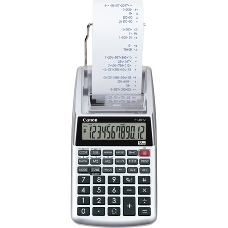 Canon, CNMP1DHV3, P1DHV3 Compact Printing Calculator, 1 Each,