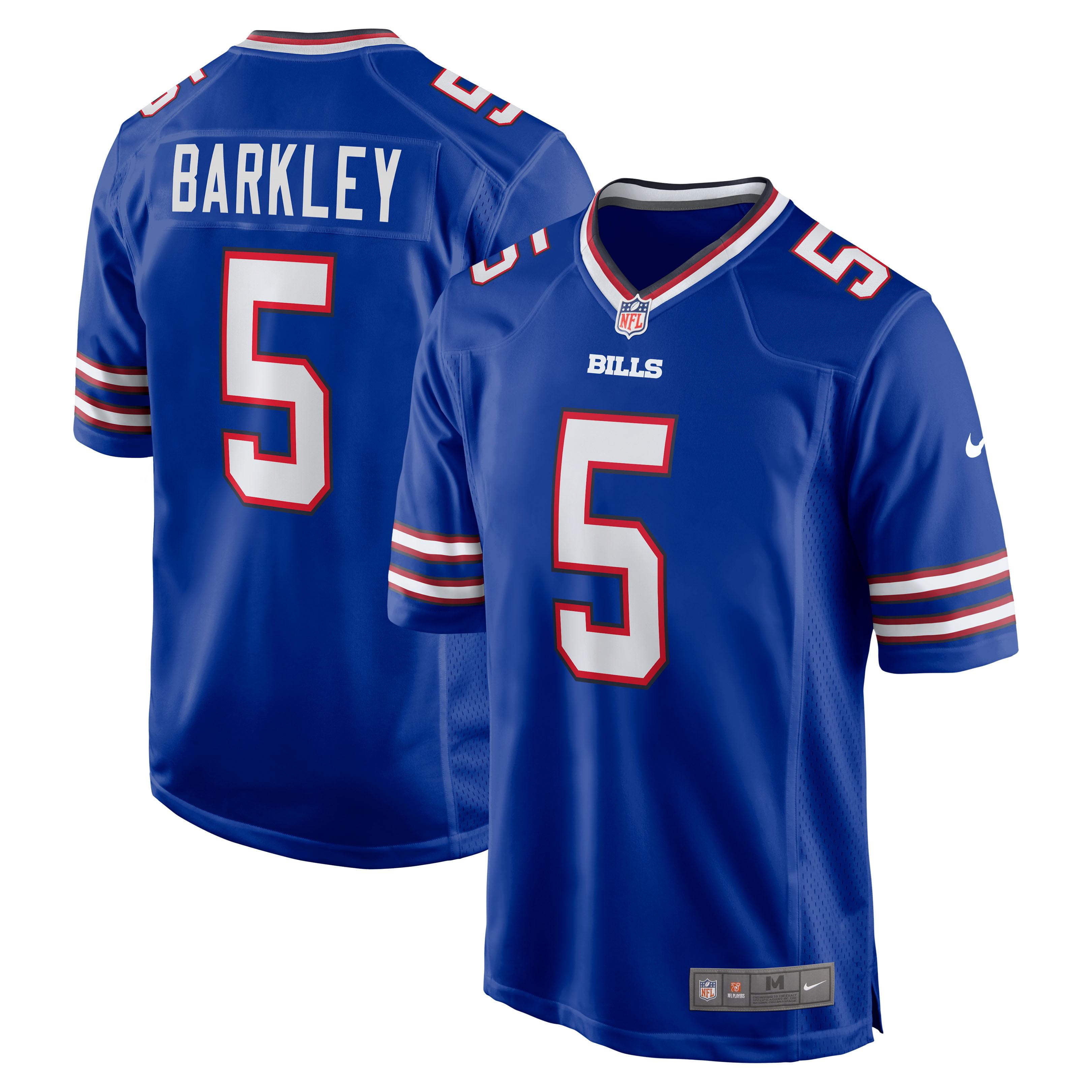 Matt Barkley Buffalo Bills Nike Game Jersey - Royal - Walmart.com