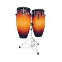 Latin Percussion M846S-VSB Mat Cust 11 & 11.75 Conga Set Vintage Starburst D Standard
