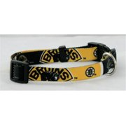 DoggieNation 716298233180 Boston Bruins Dog Collar - Large