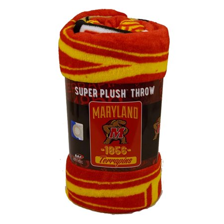 Maryland Terrapins NCAA NCAA 46x60 Varsity Design Micro Raschel Plush -