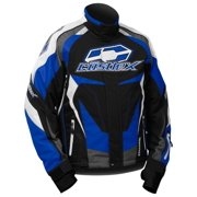 Castle X Racewear Charge G3 Mens Snowmobile Jacket Blue