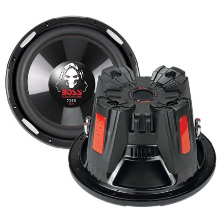 "BOSS Audio P126DVC 12"" 4600W Car Power Subwoofers DVC 4 Ohm, 2 Subs"